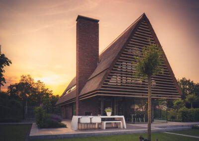 Villa H2 tuin door Tom Kneepkens/Peter Baas