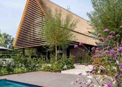 Villa H2 pool door Tom Kneepkens/Peter Baas