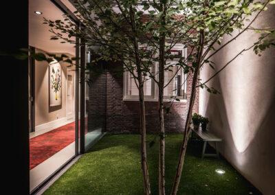 Villa K3 zei tuin door Tom Kneepkens/ Peter Baas