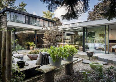 Villa W tuin door Tom Kneepkens/François Hannes/Peter Baas