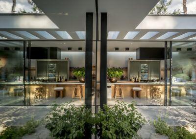 Villa W spiegel door Tom Kneepkens/François Hannes/Peter Baas
